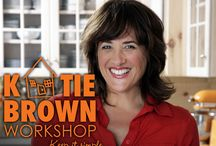 """THE KATIE BROWN WORKSHOP / With her Midwestern charm, girl-next-door persona and """"keep it simple"""" ethic, Katie Brown demonstrates how to make a house a home in her new series, THE KATIE BROWN WORKSHOP. Everyday life at home is a joyous adventure for Katie, whether she is planning and cooking a dinner party, working in her garden, redecorating a room or meeting the daily needs of a young family."""