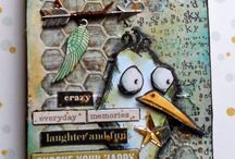 Crazy Birds / Tim Holtz crazy birds / by Colleen VanderLinden