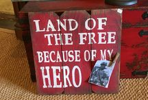 Military Decor / Home decor and gifts perfect for any active duty, spouse, or veteran serving in the armed forces.