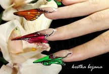 Сложные формы ногтей