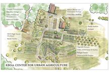Garden maps and illustrations