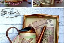 Decoupage and decoration Made by Tati Belle http://tatibelova.ru/ / Here I present my creative work. All these items are author and executed manually by me. This idea, design and an embodiment of a fully belong to me.
