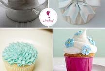 Flower cupcakes  / by Kelly Gooden