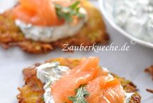 Kartoffelpüree mit Lachs