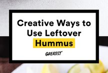 Humus left over recipes