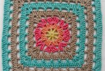 """Free crochet pattern: Vincent 12"""" Afghan Square with video tutorial by It's All In a Nutshell Crochet"""