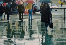 Rain & Water / Rain and Water in art. Plenty of the in the UK.