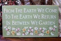 "Garden Signs Gotta ""Say Something""!!!"