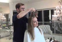 Videos de beleza e penteados.