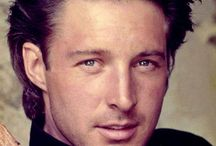36) Young handsome actor Bruce Boxleitner / Bruce William Boxleitner (born May 12, 1951) is an American actor, and science fiction and suspense writer.