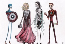 What If 'The Avengers' Was Directed By Tim Burton / by Roberto Martins