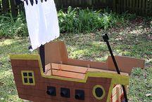 Emily's parade wagon