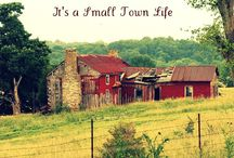 Small Town Life- Adventures of Chuck and Watson  / by Sarah Smith