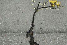 handvaardigheid kunst op straat