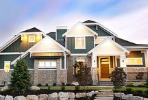 Two-Story Houses / Two-Story House Plans Designed by Walker Home Design
