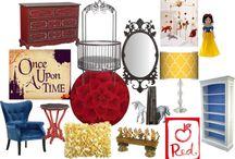 """Snow White"" Inspired Interior Design"