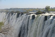 African Waterfalls / Waterfalls in South and East Africa and the Indian Ocean Islands