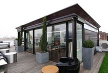 Roof gardens and spaces