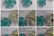 bufandas de flores