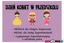 dzień kobiet przedszkole