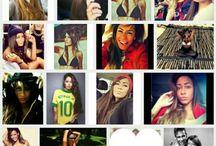 Rafaella beckram / Neymar Jr sister