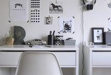 Coin bureau / Parce que je rêve d'un bureau, même d'un tout petit ^^