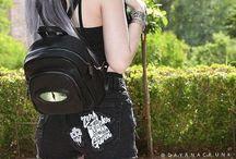 Goth/pastel/grunge goth girls