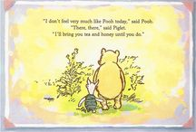 Just Pooh / Classic Pooh. Those pictures. Those thoughts. *sigh*