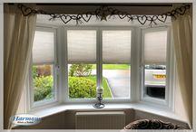 Bay Window Blinds - Ideas