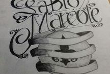 Mis diseños de lettering