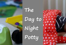 Potty Training Help / Our favourite potty training guides and tips to help your child become day and night dry.