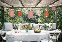 Interiors - Outdoor Spaces / by Shannon Webster