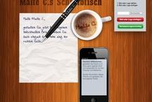 Werbeideen / Werbung darf interaktiv sein, ansprechend und voll neuer Ideen! :-)
