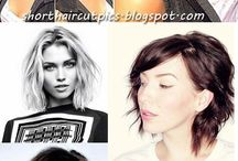 Short Haircut Styles / Short hair styles including wavy, pixie, colored and more plus tips on how to cut it and keep it healthy. / by Trendsi