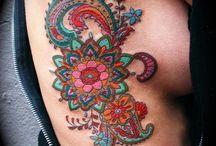 colorful tattoo arm