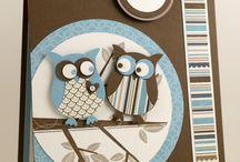Owls - cards etc