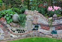 Mauern, Gartentore etc.