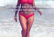 Getting in shape / A montage of images to inspire my fitness and better health journey