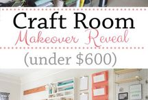 My Dream craft room! / Ideas and inspiration for when I set up my own craft room!