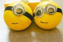 Minions Christmas decorations