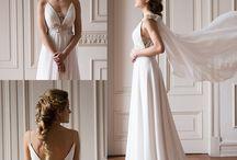 Colección Olimpo Santo Encanto · Grecian Wedding Dress Collection by Santo Encanto / Nueva colección Chilena de vestidos de novia: Colección Olimpo - www.santoencanto.cl