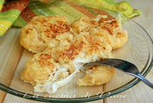 schiacciata di patate con ricotta
