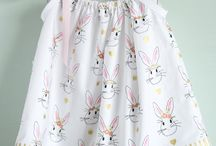 Sewing - baby dresses