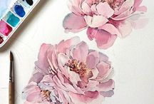 watercolor/flower