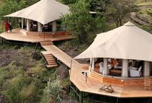 African tented camp