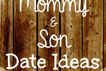 Boys and their Mommy