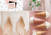 Свадебные палитры