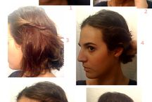 Penteado para cabelo comprido