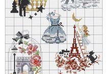 cross stitch France