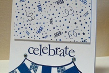 GRS Birthdays and Celebrations / Birthday and other Celebration cards featuring images from Gourmet Rubber Stamps / by Gourmet Rubber Stamps